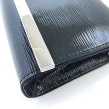 Sevigne Epi Vernis Black Patent Leather Clutch