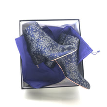 Brooklyn Stardust Jacquard Ankle Boots