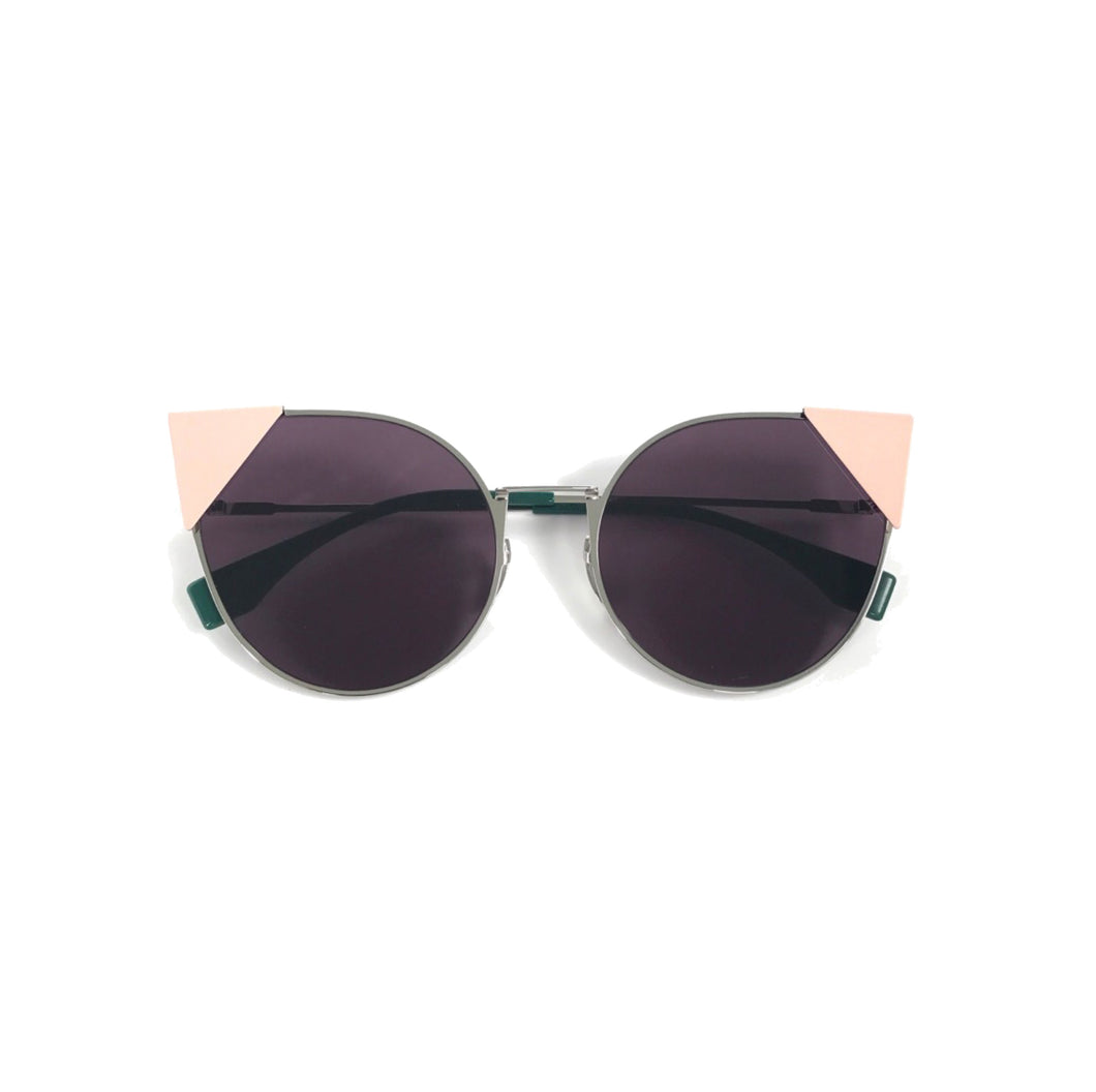 Fendi Lei pink sunglasses, Fendi cat-eye sunglasses