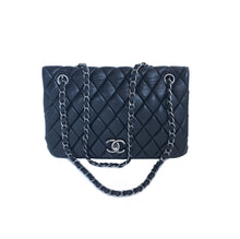 Chanel Lambskin Flap Bag Black