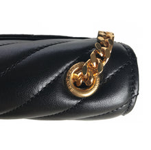 Monogram Classic Black Matelassé Leather Small Leather Bag