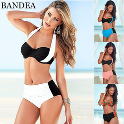 BANDEA High Waist bikini - Head Turner Fashion