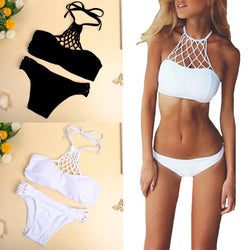 Bikini Set Halter Criss Cross - Head Turner Fashion