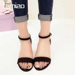 Open Toe Flip Flops Sandals - Head Turner Fashion