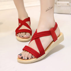 Summer low cut Gladiator Sandal - Head Turner Fashion