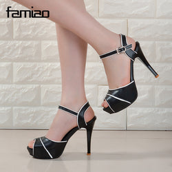 Classic Dress High Heels - Head Turner Fashion