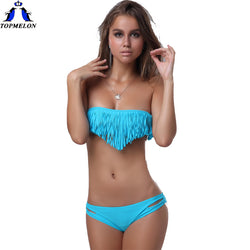 Bandeau bikinis set - Head Turner Fashion