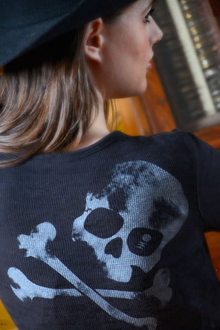 Fade to Back - Ladies Burnout Thermal