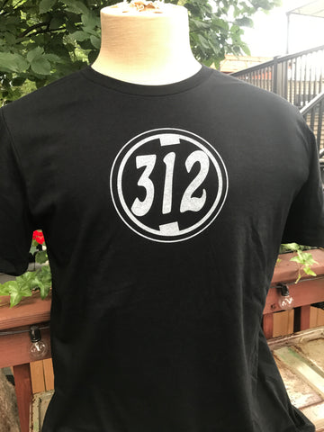 Midnight Chi Town 312 Short Sleeve Shirt