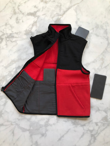 Black / Red Weighted Vest