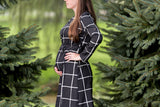 Mia Plaid Shirt Dress