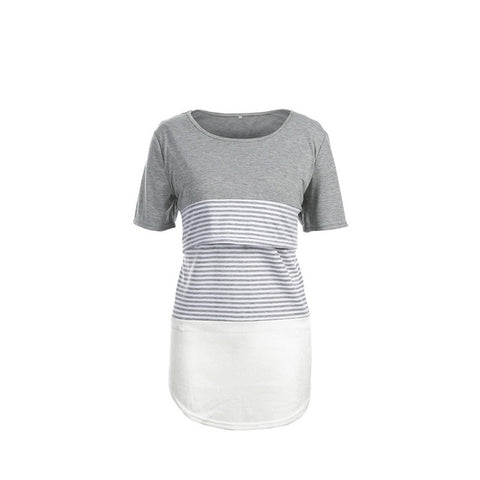 Sadie Striped Nursing T-Shirt