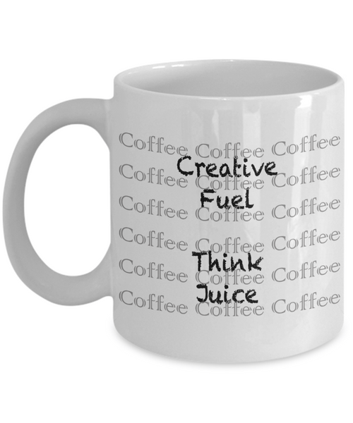COFFEE = Creative Fuel Think Juice