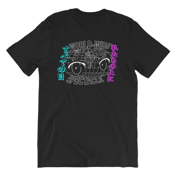 World Wide Spectacle - Black (Tee)