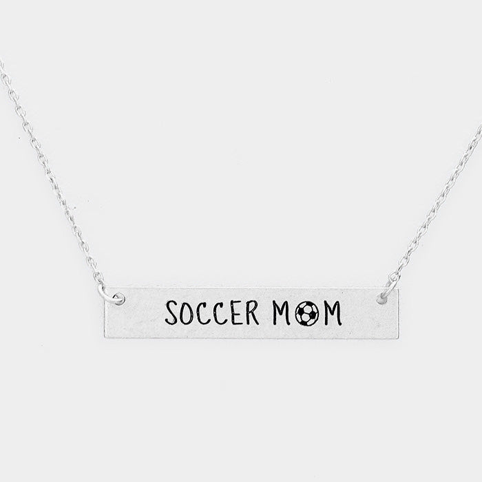 Soccer Mom Necklace - MyShoppingAddiction.co
