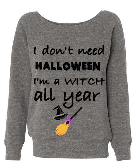 """I'm a Witch"" Top - MyShoppingAddiction.co"