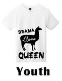 """Drama Llama"" Youth Tee - MyShoppingAddiction.co"