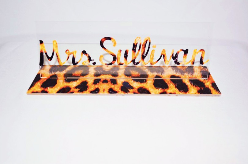 Name Plate *Exclusive* - MyShoppingAddiction.co