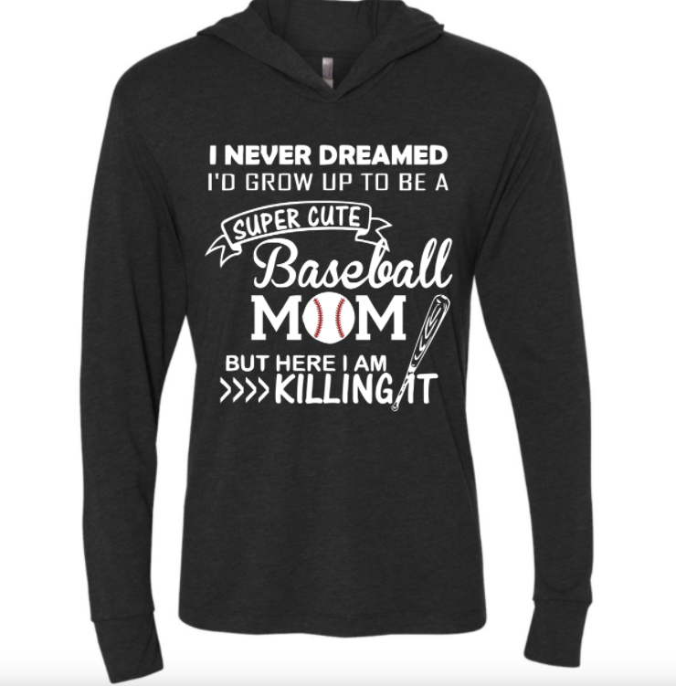 Baseball mom Hoodie - MyShoppingAddiction.co