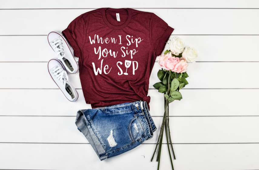 We Sip Wine.. - MyShoppingAddiction.co