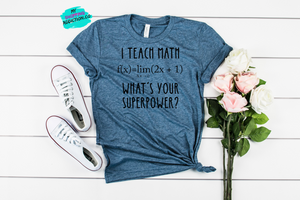 Teacher Tee's (sizes: XS-XL) - MyShoppingAddiction.co