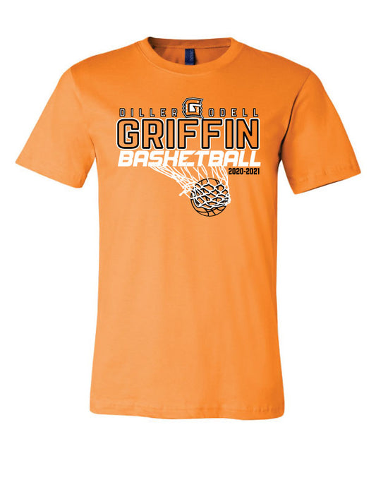Griffin Basketball shirt- Bella Canvas