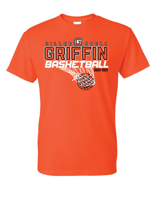 Griffin Basketball Short Sleeve Tshirts - Gildan Shirts