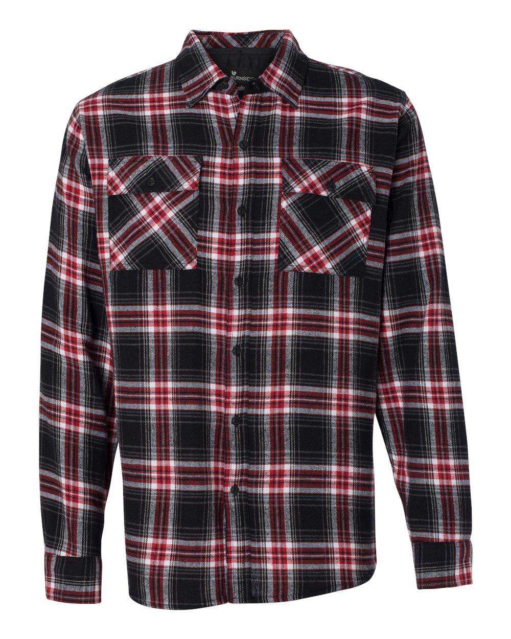 Red Long Sleeve Flannel Shirt