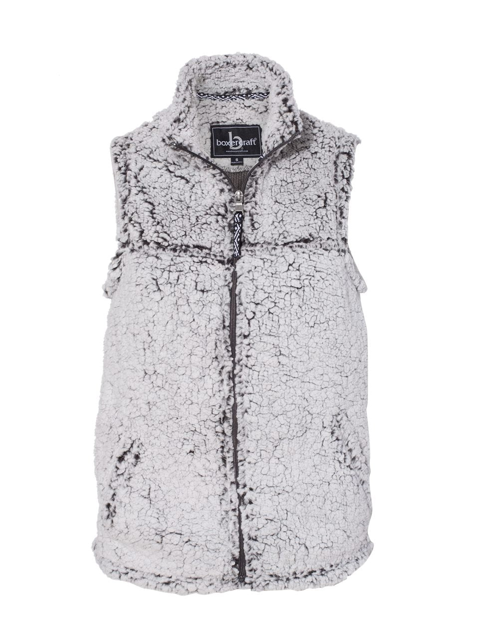 Women's Sherpa Full-Zip Vest - Q11