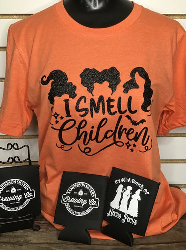 I Smell Children T-Shirt- Glitter