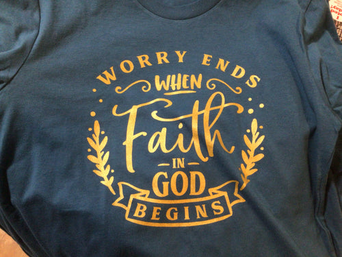 Faith in God Tshirt