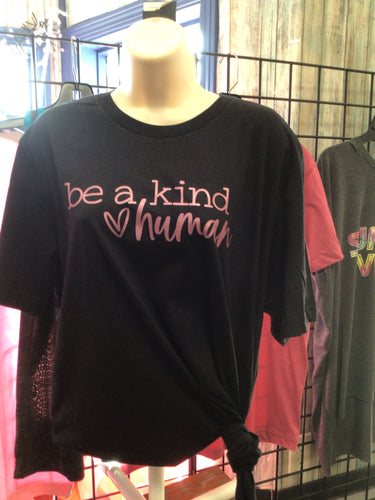 Be A Kind Human-BLK