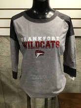 Frankfort Wildcats Ladies 3/4 Sleeve bling shirt