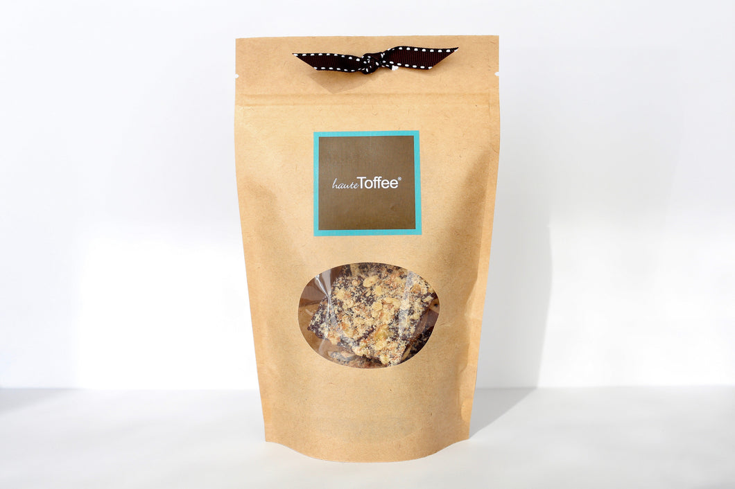 3.5 Oz. Grab & Go Bag of English toffee - Traditional Flavor