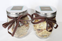 1 LB Glass Jar of English toffee - Traditional Flavor
