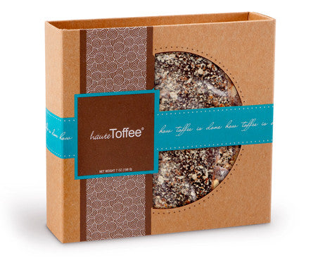 7 oz. Box of English toffee - Traditional Flavor