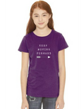 Keep Moving Forward for Girl's T-Shirt