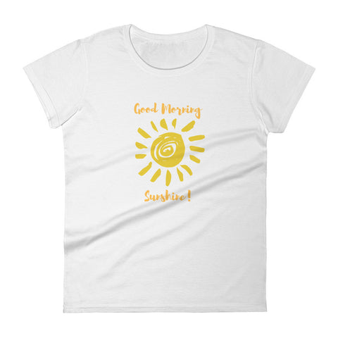 Good Morning Sunshine! Graphic T-shirt - The Gerber Daisy