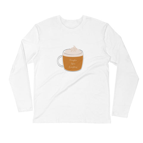 Pumpkin Spice Everything Women's Long Sleeve T-shirt