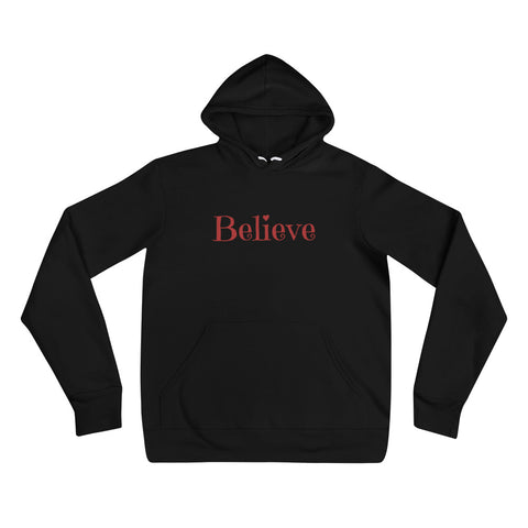 Believe in Red Women's Hoodie