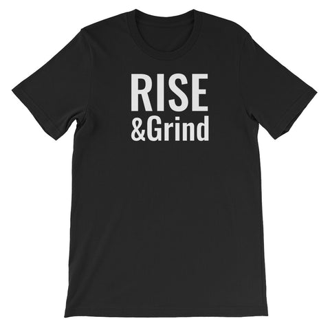 Rise & Grind Men's Short-Sleeve T-Shirt - The Gerber Daisy