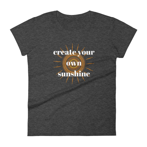 Create Your Own Sunshine Graphic T-shirt - The Gerber Daisy