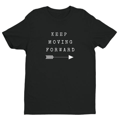 Keep Moving Forward Men's Short Sleeve T-shirt - by The Gerber Daisy
