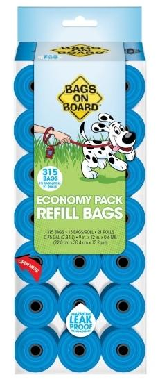 BAGS ON BOARD BAG REFILL PACK (120)