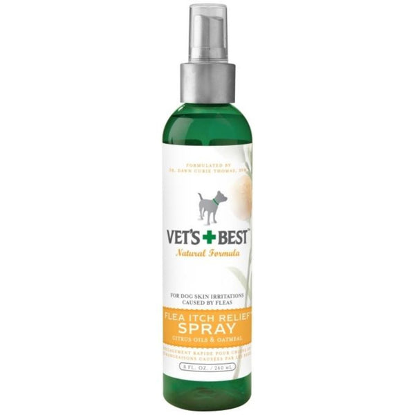 OATMEAL FLEA ITCH RELIEF SPRAY, 8.OZ