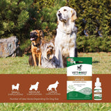 Vet's Best Flea and Tick Spot-on Drops Topical Treatment for Dogs