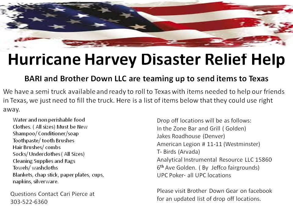 Event - Hurricane Harvey Disaster Relief Help - Let's load the semi's!