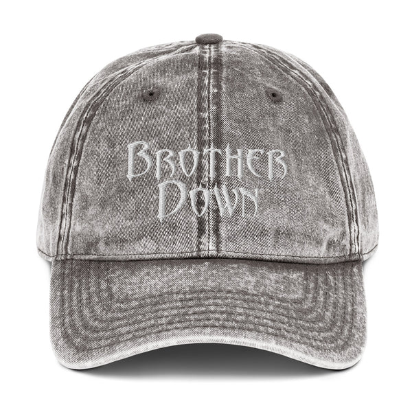 Brother Down Vintage Cotton Twill Cap