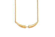 """For Life"" necklace - gold plated"