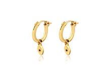 My Guarding Eye Hoop earring - Gold Plated